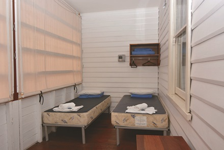 Bungalow accommodation sleepout
