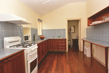 Heritage View 6 bed cottage kitchen