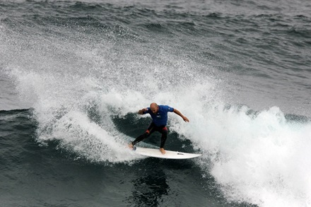 Surf competition on Rottnest Island