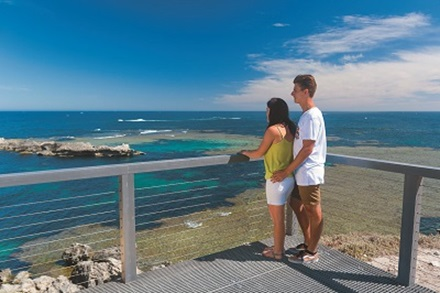 Cathedral Rocks viewing platform