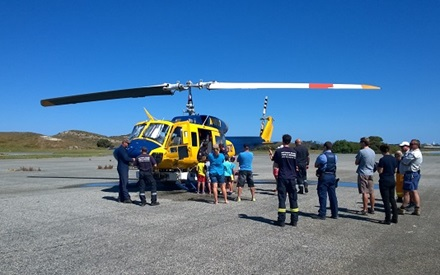 Helitak helicopter drill