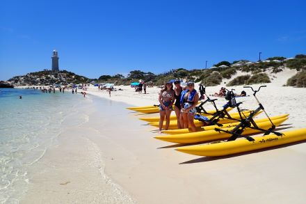 Seabikes from Aquaplay Rottnest on Rottnest Island