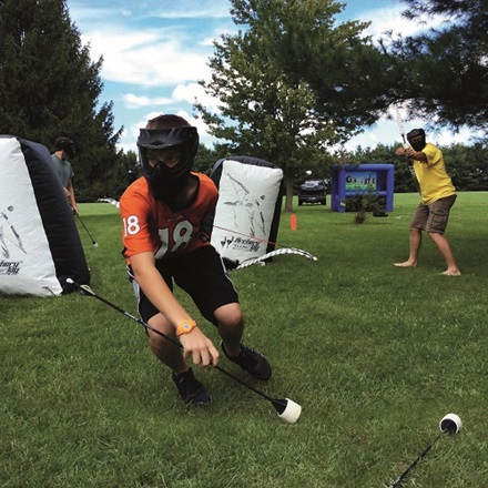 Archery Tag at Rottnest Island Country Club
