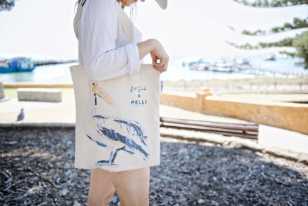 Bag on sale at the Salt Store on Rottnest Island